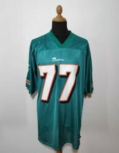 Authentic Miami Dolphins Jake Long Jersey Size M Green Reebok NFL Football Kit