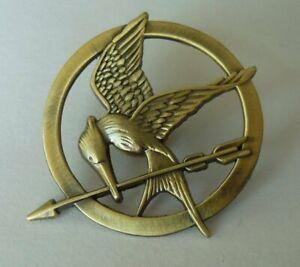 The Hunger Games Katniss Everdeen Cosplay Prop Mockingjay Pin Brooch Badge #lkx