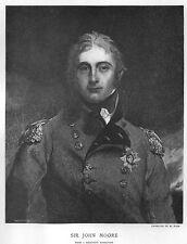 Antique Beautiful  Napoleonic: Sir John Moore killed Peninsular War