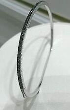 60% Off HIDALGO Bracelet 18KW Bangle Blk Dia .515Ct-HDB2BK-NEW from auth dealer
