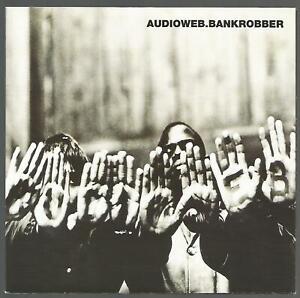 Audioweb - Bank Robber 1996 UK 45 Poster Sleeve VG+/VG+