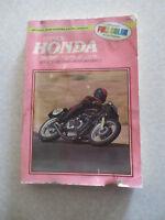 1972 - 1978 Honda 350cc to 550cc fours motorcycles  - Clymer maintenance manual