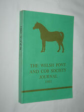 The Welsh Pony and Cob Society Journal 1981