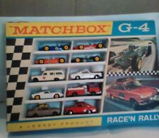 """COMPLETE and AUTHENTIC Matchbox """"Race 'N Ralley"""" G4 Set"""