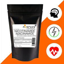 Nutrics® 580mg NICOTINAMIDE NIACINAMIDE Vitamin B3 NoFlush Anti Acne Anti Ageing