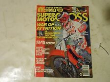 MAY 1989 SUPER MOTOCROSS MAGAZINE,ATK 406,JEFF STANTON COVER,TY DAVIS,CHARIOTS