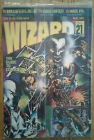 WIZARD COMICS MAGAZINE #21 from May 1993 Sealed with Inserts