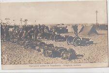 ITALIA A.O.I 1912 OPERAZIONI MILITARI IN TRIPOLITANIA-ARTIGLIERIA MONTATA