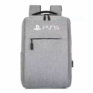 PS5 Backpack Rucksack Travel Carrying Storage Case Console USB Port Anti Theft