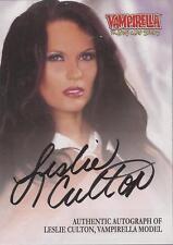 "Vampirella - VA-LC ""Leslie Culton"" Black Autograph Card"