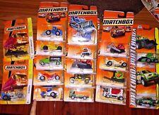 Matchbox MBX 2010 & 2011 Mix of Construction Cars - NIB - Lot of 17