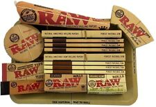 RAW Mini Rolling Tray & Papers Gift Set