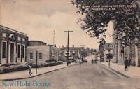 Postcard Gay Street Looking North Bridge Phoenixville PA
