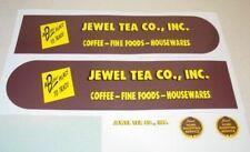 Tonka Jewel Tea Stores Semi Truck Sticker Set    TK-125