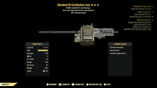 Fallout 76 (PC) 3🌟🌟🌟 Bloodied Explosive 50 Cal Machine Gun [90% Weight RD]