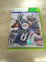 Madden NFL 13 (Microsoft Xbox 360, 2012)