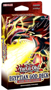 Egyptian God Deck: Slifer The Sky Dragon **1ST CLASS** (NEW & SEALED) Yu-Gi-Oh!