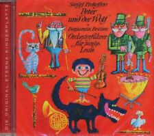CD - Peter und der Wolf von Sergej Prokofjew / Die Original-Eterna-Kinderplatte