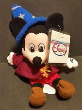 The Disney Store Bean Bag Plush Sorcerer Mickey Mouse