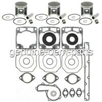 1996 Polaris 680 Ultra SKS RMK Rebuild Kit Pistons Gaskets Bearings Crank Seals