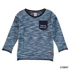 128GB Größe Jungen-T-Shirts, - Polos & -Hemden aus 100% Baumwolle mit V-Ausschnitt
