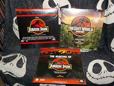 Jurassic Park/The Lost World/Making of JP Briefkasten Laserdisc LD kostenloser Versand $30