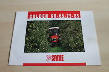 126992) same golden 60 65 75 85 PROSPEKT 04/1998