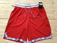 Men's Nike Dri-Fit DNA Basketball Shorts Univ. Red/Psychic Blue BV9446-658 Sz XL