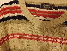 MAGLIA SHIRT OSVALDO BRUNI sweater pull COTONE L MADE IN ITALY lotto lot Perry