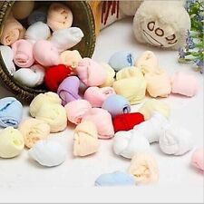 Cute 5 Pairs Infant Baby Candy Color Short Sock Newborn Kid Toddler Cozy Socks