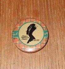 "Vintage Armand Cold Cream Powder Tin~purse size~1-5/8"""