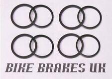 Suzuki motorcycle brake caliper piston pressure and dust seals 30mm   - x4 sets