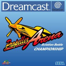 SEGA Dreamcast PROPELLER ARENA Aviation Battle Championship