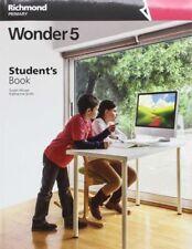 (16).WONDER 5ºPRIM.(STUDENT+LANGUAGE REFERENCE). ENVÍO URGENTE (ESPAÑA)
