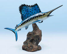 "Taxidemy Sail Fish Fiberglass Trophy 23"""