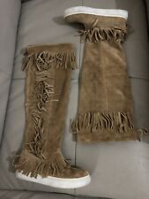 *FREE PEOPLE*WOMEN'S BOOTS/LEATHER/TAN Colour/7AUS/Excellent CONDITION