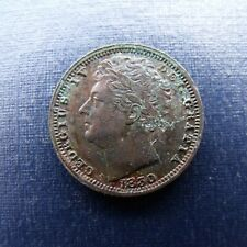 More details for 1830 george iv half farthing in very fine condition recieve coin pictured