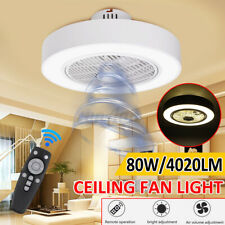 Ceiling Fan Light Remote Control Led Light Dimmable Bedroom Office Home  #