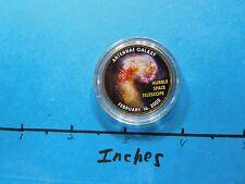 HUBBLE SPACE TELESCOPE 2005 PIC ANTENNAE NEBULA NASA ON KENNEDY HALF DOLLAR #2