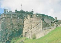 Scotland Postcard - Edinburgh Castle from The South    SM147