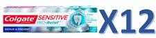 12 x Colgate SENSITIVE Pro-Relief Toothpaste Repair & Prevent 75ml *FREE UK Post