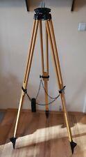 Vintage wooden geodetic/camera tripod (ШР-120)