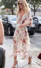 RARE ZIMMERMANN MISCHIEF LADDER SILK GEORGETTE FLORAL MIDI DRESS SLIP SOLD OUT 1