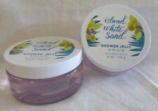 2 Island White Sand Shower Jelly With Aloe Bath & Body Works 8 Oz