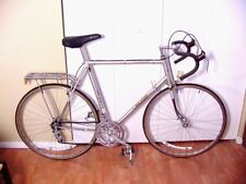 Vtg 70s Gray/Silver Raleigh GS Road Race Bike Campagnolo Weinmann Made England