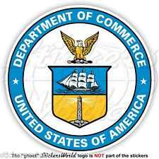 US DEPARTMENT OF COMMERCE Seal DOC United States USA American Sticker Decal