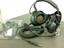 TELEX Aviation Headset w Boom Mic and connection for ICOM Radio