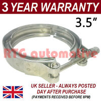"V-BAND OUTER CLAMP STAINLESS STEEL EXHAUST TURBO HOSE RADIATOR 3.5"" 89mm"