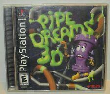 Pipe Dreams 3D (Sony PlayStation 1, 2001) Black Label (NTSC)