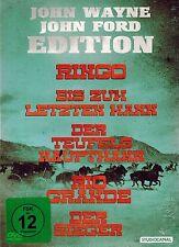 DVD-BOX NEU/OVP - John Wayne John Ford Edition - 5 Filme - Rio Grande u.a.